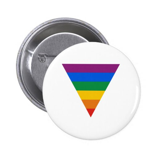 Gay Pride Triangle Buttons