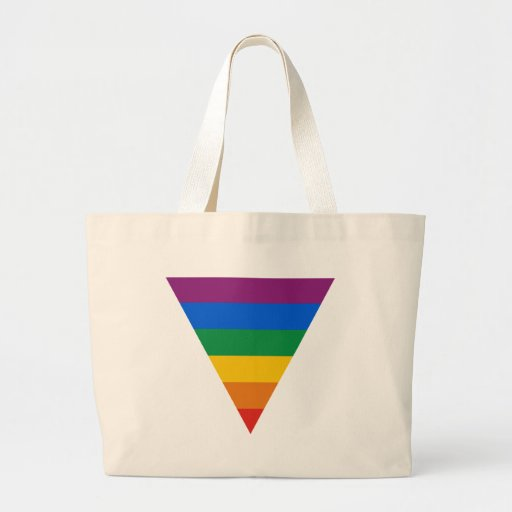 Gay Pride Triangle Tote Bag