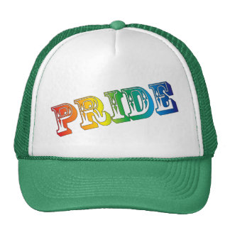 gay pride trucker hat