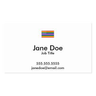 Gay Pride US Flag - 13 Colonies of Gay Pride Business Card