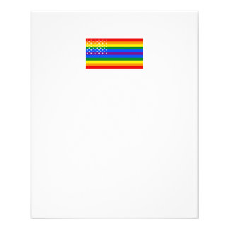 Gay Pride US Flag - Stars and Stripes Flyer