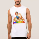 Gay Pride We can Do it With Pride Sleeveless Shirt
