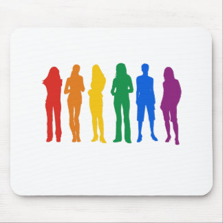 Gay Pride Women's T-shirt Mouse Pad