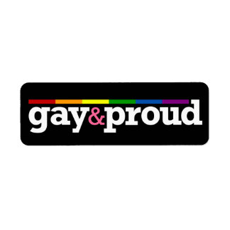 Gay&proud Black Label