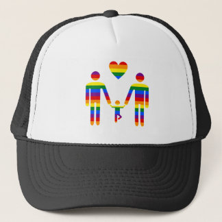Gay Rainbow Family Cap from Bent Sentiments