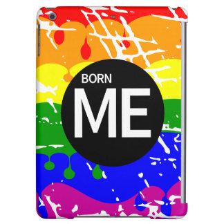 Gay Rainbow Flag Born This Way Cover For iPad Air