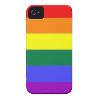 Gay Rainbow Pride iPhone 4 Case-Mate Case