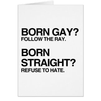 GAY RAY STRAIGHT HATE CARDS