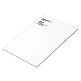 GAY RAY STRAIGHT HATE NOTE PADS