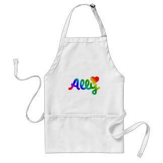 Gay Rights ALLY Adult Apron