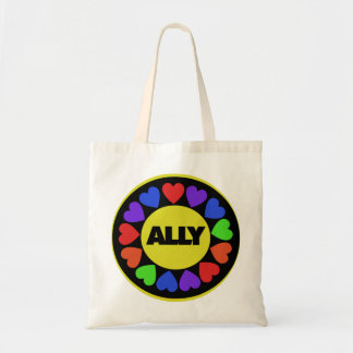 Gay Rights Ally Tote Bags