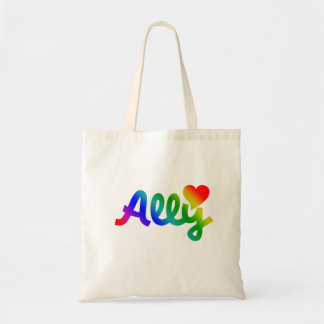 Gay Rights ALLY Tote Bag