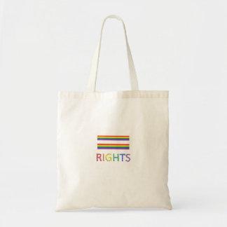 Gay Rights Equal Rights Bag