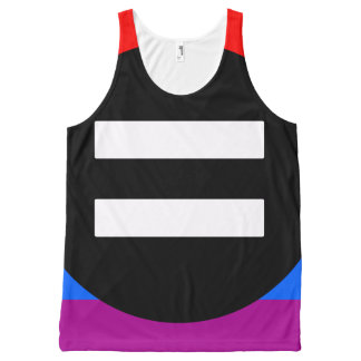 Gay Rights Flag All-Over-Print Tank Top