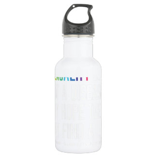 Gay Rights - Homosexuality is not a disease 18oz Water Bottle