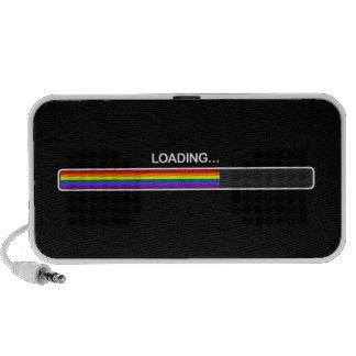 Gay Rights Loading Doodle Speaker