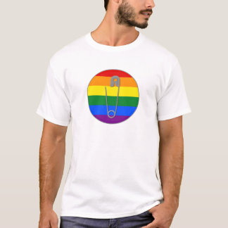 Gay Rights Safety Pin T-Shirt