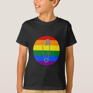 Gay Rights Safety Pin T-Shirt
