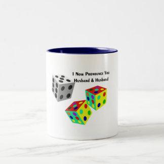 Gay Rights Two-Tone Coffee Mug