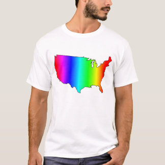 GAY RIGHTS USA RAINBOW T-Shirt