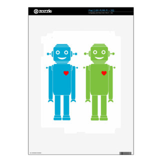 Gay Robots Decal For The iPad 2