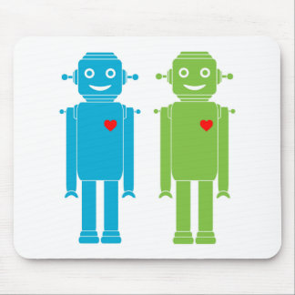 Gay Robots Mouse Pad