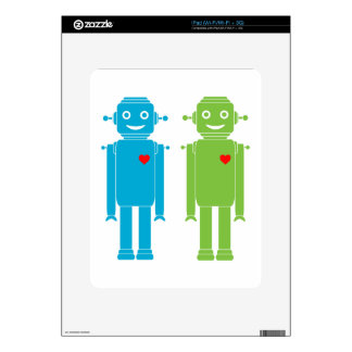 Gay Robots Skins For iPad