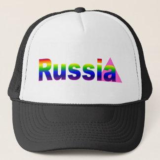 Gay Russia Trucker Hat