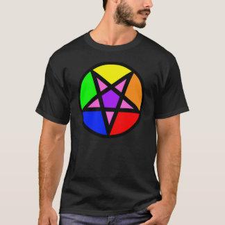 Gay Satanist Pentagram T-shirt