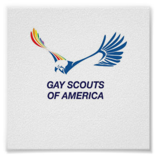 Gay Scouts of America poster