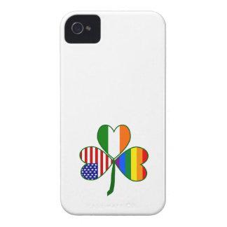 Gay Shamrock iPhone 4 Case