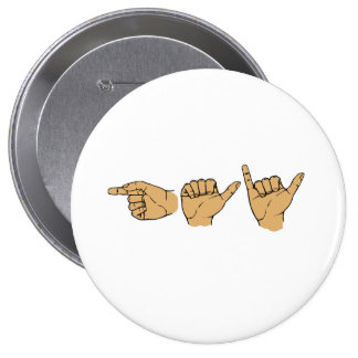 Gay Sign Language Button