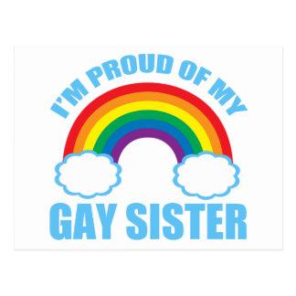 Gay Sister Postcard