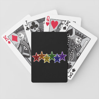 Gay Stars Cards Bicycle Playing Cards