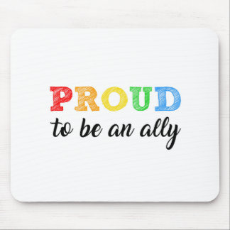 Gay Straight Alliance Ally Mouse Pad
