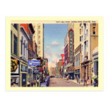 Gay Street, Knoxville, Tennessee Vintage Post Card