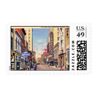 Gay Street, Knoxville, Tennessee Vintage Postage