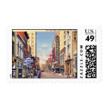 Gay Street, Knoxville, Tennessee Vintage Postage Stamps