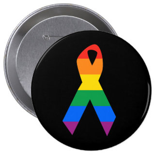 Gay Suicide Awareness Button