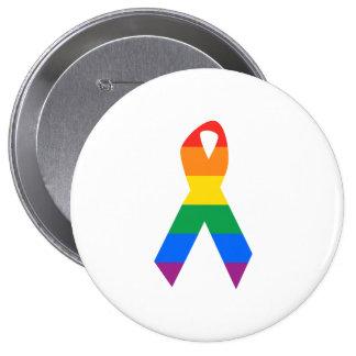 Gay Suicide Awareness Pinback Button