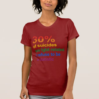 Gay Suicide - I refuse to be a statistic T Shirts