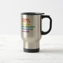 Gay Suicide - I refuse to be a statistic Travel Mug