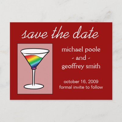 gay tini save the date postcard p239765492593779397envli 400 ... drinking makes teens more suseptible to drink reminded me of this comic ...