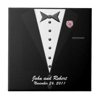 Gay Tuxedo Wedding Tile