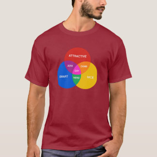 GAY VENN DIAGRAM T-Shirt