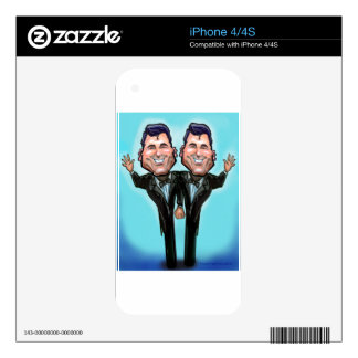Gay Wedding Cake Dolls Skins For The iPhone 4