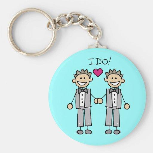 Gay Wedding Favors Keychains