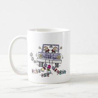 Gay Wedding Just Married mug