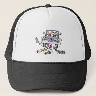 Gay Wedding Just Married Trucker Hat