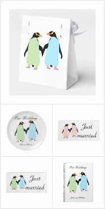 Gay Wedding Penguins